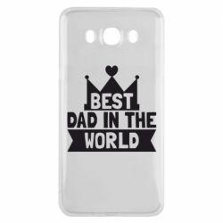 Чехол для Samsung J7 2016 Best dad in the world