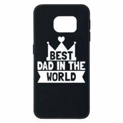 Чехол для Samsung S6 EDGE Best dad in the world