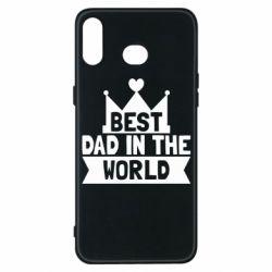 Чехол для Samsung A6s Best dad in the world