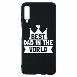 Чехол для Samsung A7 2018 Best dad in the world