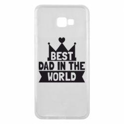 Чехол для Samsung J4 Plus 2018 Best dad in the world