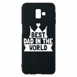 Чехол для Samsung J6 Plus 2018 Best dad in the world