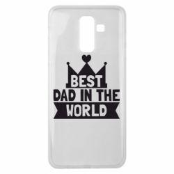 Чехол для Samsung J8 2018 Best dad in the world