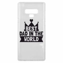 Чехол для Samsung Note 9 Best dad in the world