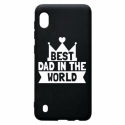 Чехол для Samsung A10 Best dad in the world