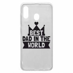 Чехол для Samsung A20 Best dad in the world