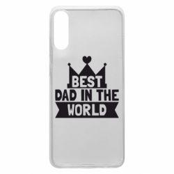 Чехол для Samsung A70 Best dad in the world