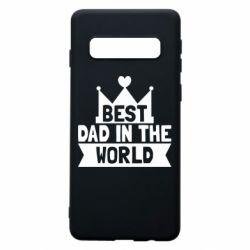 Чехол для Samsung S10 Best dad in the world
