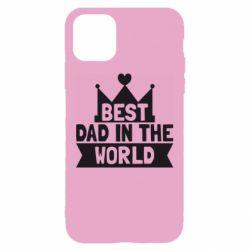 Чехол для iPhone 11 Best dad in the world