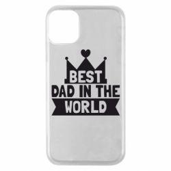 Чехол для iPhone 11 Pro Best dad in the world