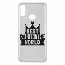 Чехол для Samsung A10s Best dad in the world