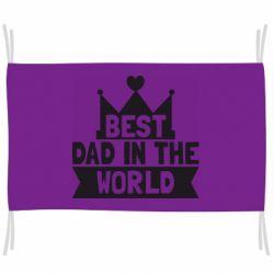 Флаг Best dad in the world