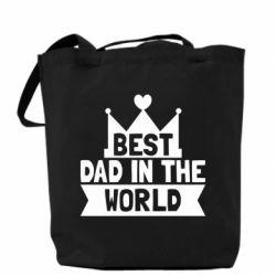 Сумка Best dad in the world