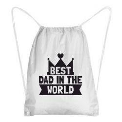 Рюкзак-мешок Best dad in the world