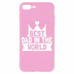 Чехол для iPhone 7 Plus Best dad in the world