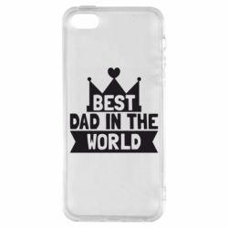 Чехол для iPhone5/5S/SE Best dad in the world
