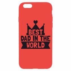 Чехол для iPhone 6/6S Best dad in the world