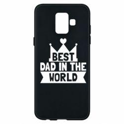Чехол для Samsung A6 2018 Best dad in the world