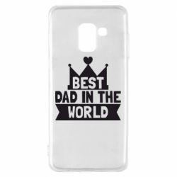 Чехол для Samsung A8 2018 Best dad in the world