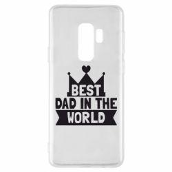 Чехол для Samsung S9+ Best dad in the world