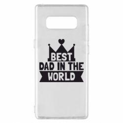 Чехол для Samsung Note 8 Best dad in the world
