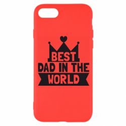 Чехол для iPhone 8 Best dad in the world