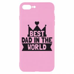 Чехол для iPhone 8 Plus Best dad in the world