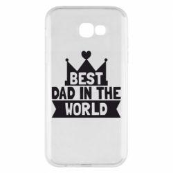 Чехол для Samsung A7 2017 Best dad in the world