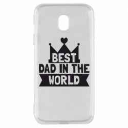 Чехол для Samsung J3 2017 Best dad in the world