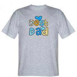 Мужская футболка Best Dad - FatLine