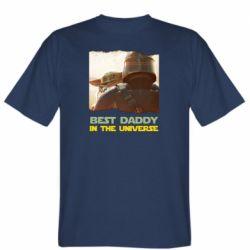 Чоловіча футболка Best daddy mandalorian