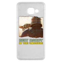 Чохол для Samsung A3 2016 Best daddy mandalorian