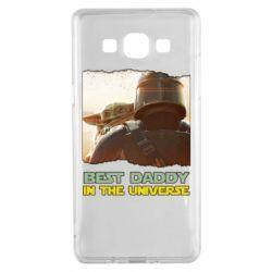 Чохол для Samsung A5 2015 Best daddy mandalorian