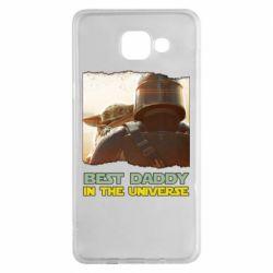 Чохол для Samsung A5 2016 Best daddy mandalorian