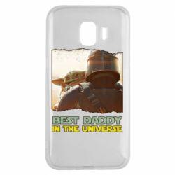 Чохол для Samsung J2 2018 Best daddy mandalorian