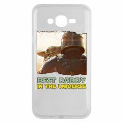 Чохол для Samsung J7 2015 Best daddy mandalorian