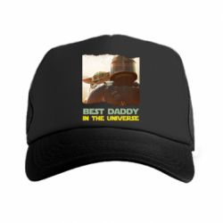 Кепка-тракер Best daddy mandalorian
