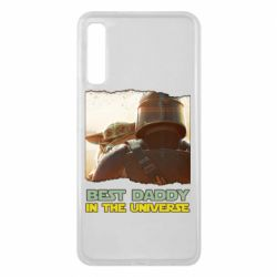 Чохол для Samsung A7 2018 Best daddy mandalorian