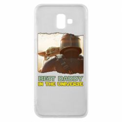 Чехол для Samsung J6 Plus 2018 Best daddy mandalorian