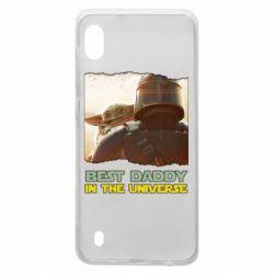 Чохол для Samsung A10 Best daddy mandalorian