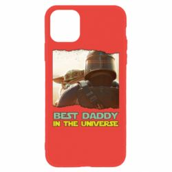 Чехол для iPhone 11 Best daddy mandalorian