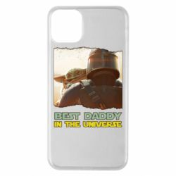 Чехол для iPhone 11 Pro Max Best daddy mandalorian