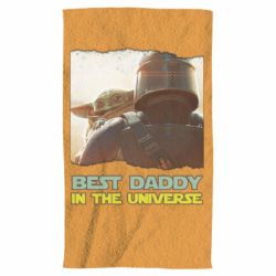 Полотенце Best daddy mandalorian