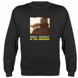 Реглан (свитшот) Best daddy mandalorian