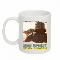 Кружка 320ml Best daddy mandalorian