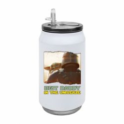 Термобанка 350ml Best daddy mandalorian