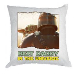 Подушка Best daddy mandalorian