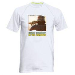 Чоловіча спортивна футболка Best daddy mandalorian