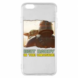 Чехол для iPhone 6 Plus/6S Plus Best daddy mandalorian