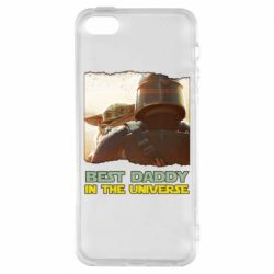 Чехол для iPhone5/5S/SE Best daddy mandalorian